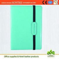Buy cheap high quality portfolio leather tablet case with high quality from wholesalers