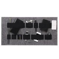 Buy cheap felt hanging multifunctional storage board with high quality elastic band from wholesalers