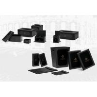Buy cheap Black charming hotel amenity wholesale with logo printed from wholesalers