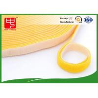 Buy cheap 10mm - 110mm Colour Double Sided hook and loop Roll With Nylon Plastic Hook and Loop Tape from wholesalers