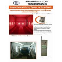 Buy cheap Infrared paint booth heaters product