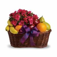 Buy cheap Blooms and Fruit Gift Basket from wholesalers