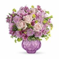 Buy cheap Purple Rose Royalty Lavender Bouquet from wholesalers