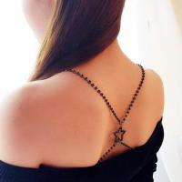 Buy cheap Black stone star dress decoration bra strap for girls from wholesalers