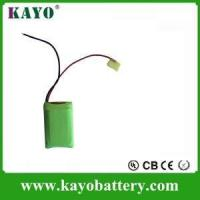 Buy cheap 9.6v Aa Rechargeable Batteries ,Rechargeable Nimh Aaa 9.6v 800mah ,for Solar LED Light Customized from wholesalers