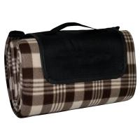 China Brown Checkered Picnic Blanket on sale