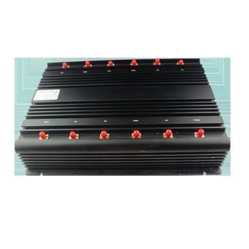 Buy cheap High Power GPS L1 L2 L5 Desktop12 Antenna Mobile Phone Jammer from wholesalers