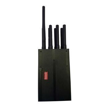 Buy cheap Handheld power gps/wifi and lojack cell phone signal jammer from wholesalers