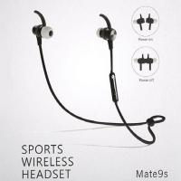 Buy cheap Handsfree Music BT Portable Sound Sport Running Headset Mate9s Wireless BT Earphone from wholesalers