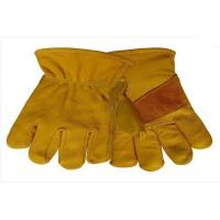 Buy cheap leather driver gloves tig mig safety gloves grain cow leather welding gloves leather work glove from wholesalers