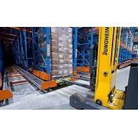 Buy cheap Radio Shuttle Car Rack Moving Movable Pallet Automatic Radio Shuttle Racking Logistics from wholesalers