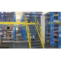 Buy cheap Logistic Nestable Plastic Crate Shelving Racking Building Regulations Mezzanine Floors With Storage from wholesalers