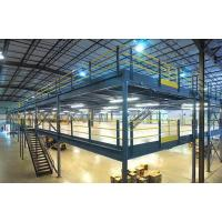 Buy cheap Custom Mezzanines Commercial Racking and Shelving Mezzanine Floor Detail Drawing from wholesalers