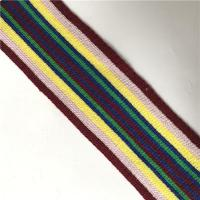 Buy cheap Colored Knitted Rib Tape Cotton Mix from wholesalers