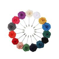 Buy cheap Camellia Flower Mens Lapel Pin from wholesalers