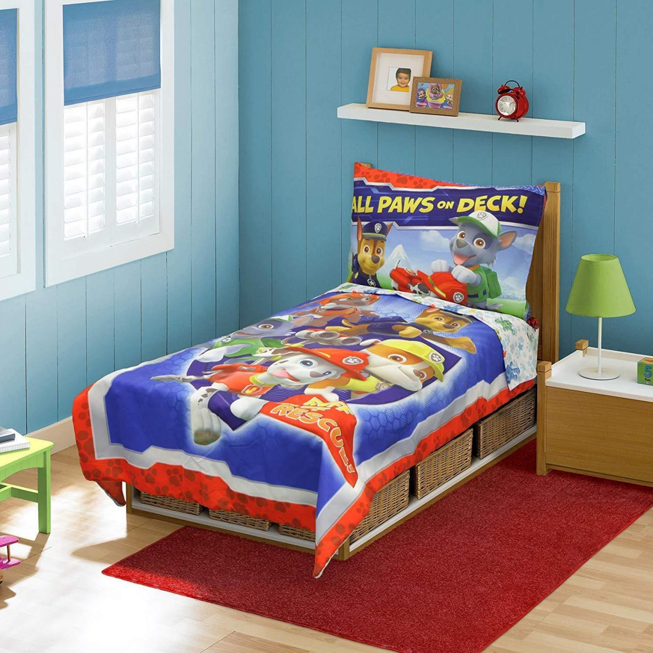 Buy cheap Cool Toddler Bed Sheets On Amazon Com Paw Patrol Set Blue Baby from wholesalers