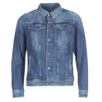 Buy cheap G-Star Raw 3301 DECONSTRUCTED 3D SLIM Blue material Denim jackets Men from wholesalers