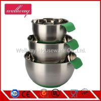 Buy cheap China wholesale 4pcs 304/201 stainless steel Non-skid Mixing Bowl set from wholesalers