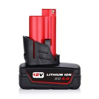 Buy cheap Power Tools Batteries For Milwaukee 12V 4.0Ah Battery Replacement | M12 Li-ion Battery from wholesalers