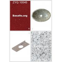 Buy cheap Red Quartz Zyq 10545 Window Sills And Sinks Granite Sinks 32 from wholesalers