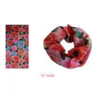 Buy cheap Mixed Color Flower Design Scarf (YT-9105) from wholesalers