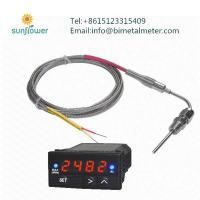 Buy cheap exhaust gas temperature probe kit and gauge from wholesalers
