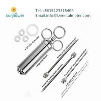 Buy cheap SS304 turkey bbq marinade injector from wholesalers
