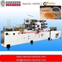 Buy cheap Automatic offset printing machine for plastic lid/cover/tray/plate product