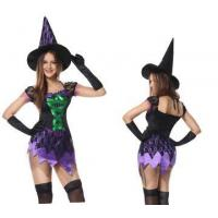Buy cheap Sexy Costumes Female witch costume with hat M40404 from wholesalers