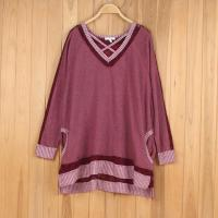 Buy cheap Womens V-neck Terry Sweaters Stock from wholesalers