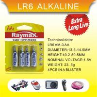 Buy cheap battery series LR6 AA AM3 from wholesalers