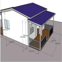 Buy cheap Living House-Light Steel Structure Prefabricated/Mobile/Prefab light steel structure house from wholesalers