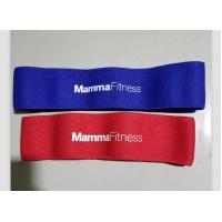 Buy cheap Elastic Cotton Fabric Resistance Fitness Loop from wholesalers