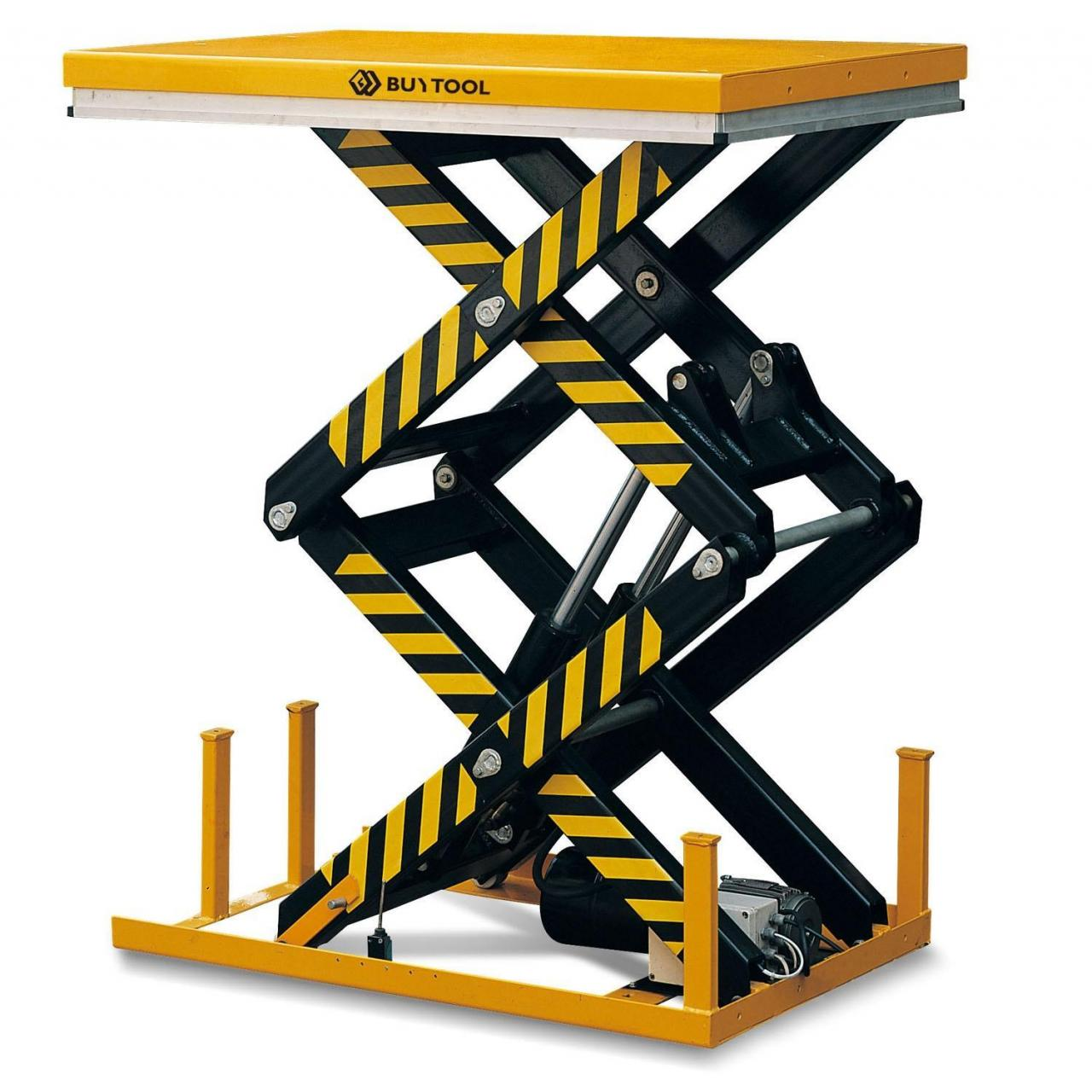 Buy cheap Double-Scissor Table Lifter Electric Hydraulic Lifting Table from wholesalers