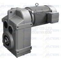 Buy cheap F157 FA157 FF157 Parallel shaft gearbox helical gearmotor reducer from wholesalers