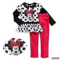 Buy cheap Kids Wear Minnie cartoon Child clothing designer fashion boutique set from wholesalers