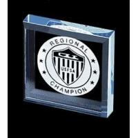 Buy cheap Government/Military AC 1800 - Square Paperweight from wholesalers