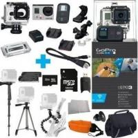 Buy cheap GoPro Hero3 Black Edition Camera with 3 Tripods! 32GB Micro SD CA from wholesalers