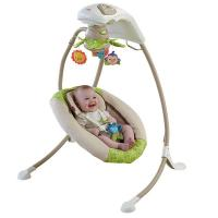 Buy cheap Fisher-Price Deluxe Cradle n Swing, Rainforest Friends Baby Swing from wholesalers