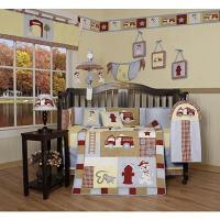 Buy cheap GEENNY Baby Boy Fire Truck 13PCS Crib Bedding Set from wholesalers