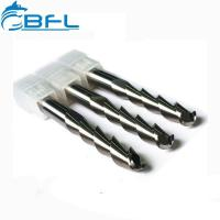 Buy cheap BFL Cemented Carbide Ball Nose Aluminum End Mills On Sale from wholesalers