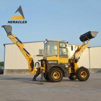 Buy cheap Hot sale WZ15-10 4x4 compact tractor with loader and backhoe from wholesalers