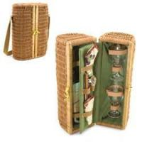 Buy cheap Bar & Wine Picnic Time Bacchus Deluxe Wine Basket from wholesalers