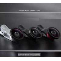Buy cheap Professional HD Cell Phone Camera Lens Kit with 0.4X Super Wide Angle Lens + 10X Macro Len from wholesalers