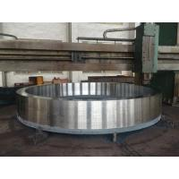 Buy cheap 30T 36T container lashing part forged D ring with bracket from wholesalers