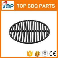Buy cheap 18 Round Cast Iron BBQ Cooking Grate for large big green egg grill from wholesalers