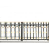 Buy cheap Golden Black Aluminum Fence from wholesalers