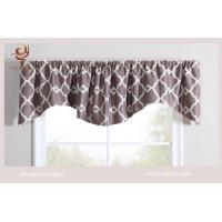 Buy cheap printed blackout fabric lined Valance from wholesalers