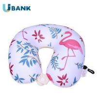 Buy cheap Lovely Elephant Pattern U Shape Microbeads Animal Neck Pillow With Hook from wholesalers