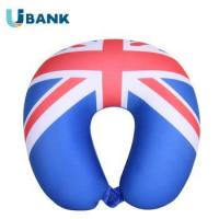 Buy cheap Unique National Flag Design Custom Travel Pillow Microbead Pillow Stuffing from wholesalers